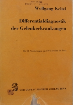 Differentialdiagnostik der gelenkerrankungen