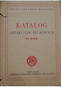 Katalog artykułów śrubowych, 1950 r.