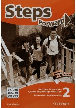 Steps Forward 2 Materiały ćwiczeniowe + dodatek online
