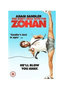 You Dont Mess With the Zohan, DVD