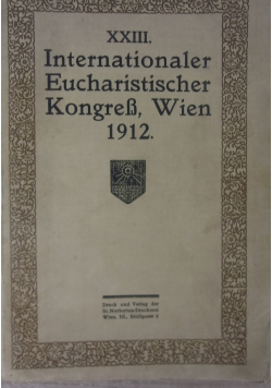 Internationaler Eucharistischer Kongress, 1912 r.