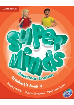 Super Minds American English 4 Student's Book + DVD
