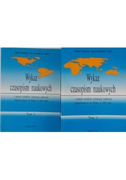 Wykaz czasopism naukowych i innych nośników informacji naukowej importowanych do Polski w 1993 roku Tom I-II