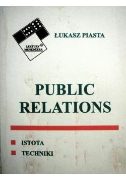 Public relations: istota, techniki