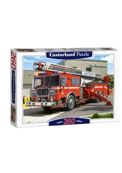 Puzzle 260 Wóz Strażacki CASTOR