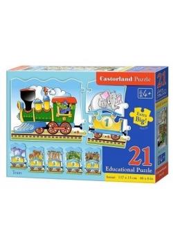Puzzle Edukacyjne - Train CASTOR