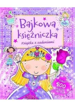 Bajkowa księżniczka. Książka z zadaniami