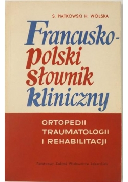 Francusko-polski słownik kliniczny