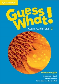 Guess What! 2 Class Audio CDs