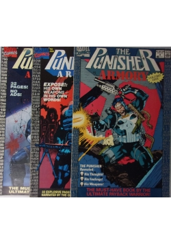 The Punisher armory, nr.1,2 i 3