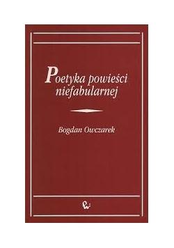 Poetyka powieści niefabularnej