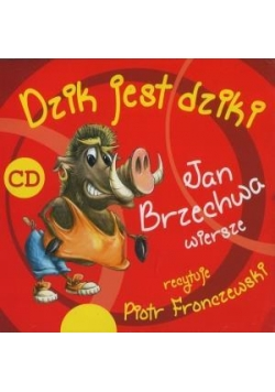 Dzik jest dziki CD MP3