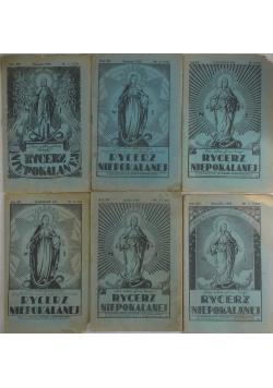 Rycerz Niepokalanej, nr 2,6,9,11,12, 1934 r