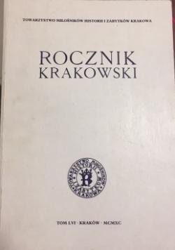 Rocznik Krakowski Tom LVI