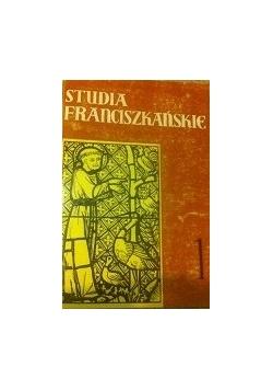 Studia Franciszkańskie 1