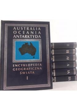 Encyklopedia geograficzna świata, komplet VII tomów