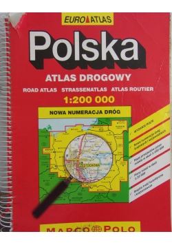 Polska atlas drogowy