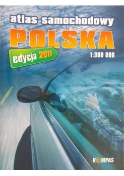 Atlas samochodowy Polska 1: 300 000