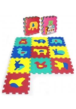Puzzle piankowe 10 elementów Zwierzęta