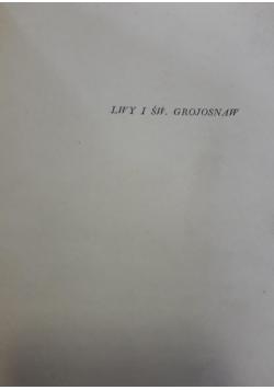 Lwy i św. Grojosnaw