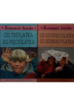 Od trzylatka do pięciolatka \ Od dziewięciolatka do jedenastolatka
