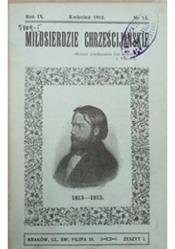 Miłosierdzie chrześcijańskie, 1913 r.
