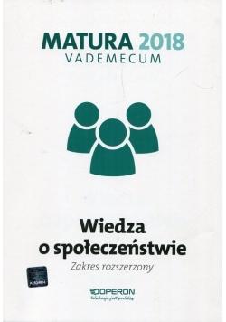 Matura 2018 Wiedza o społeczeństwie Vademecum Zakres rozszerzony