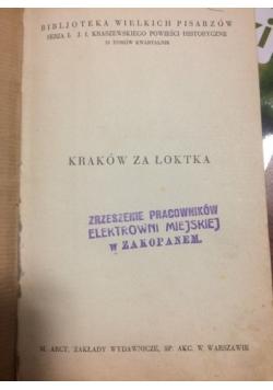 Kraków za Łoktka, 1929 r.