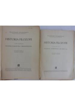 Historia filozofii, tom 1 i 2, 1947 r.