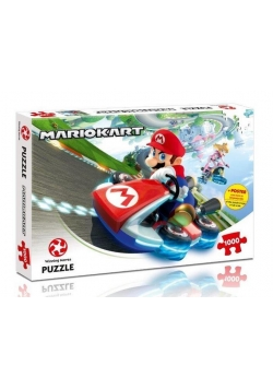 Puzzle Mario Kart FunRacer 1000