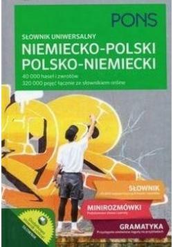 Słownik uniwersalny niemiecko-polski, polsko-niem.
