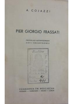 Pier Giorgio Frassati, ok. 1936r.