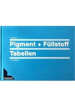 Pigment + Fullstoff Tabellen