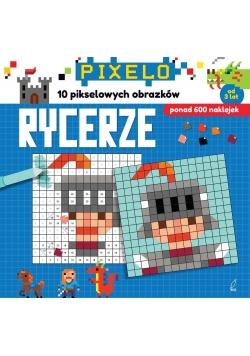 Pixelo. Rycerze + 600 naklejek