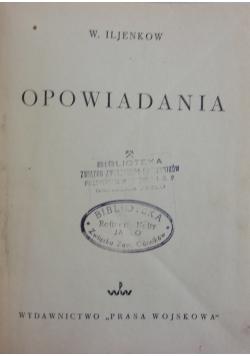 Opowiadania,  1950 r.
