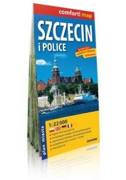 Comfort!map Szczecin i Police 1:22 000 plan miasta