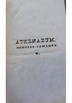 Athenaeum. Oddział czwarty. Tom V, 1844 r.