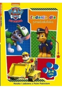 Psi Patrol. Zadania dla przedszkolaka 3-4 lata
