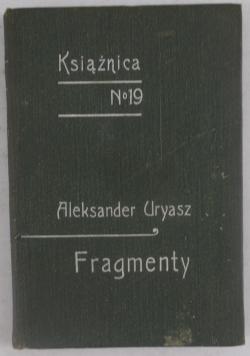 Fragmenty, Książnica Tom 19, 1907 r.