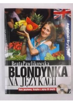 Blondynka na językach: Angielski Brytyjski + CD