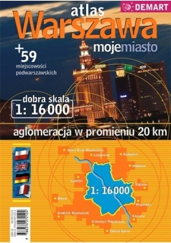 Atlas Warszawa 1:16 000
