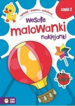 Wesołe Malowanki Naklejanki cz.2