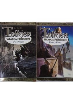 Tolkien , Władca pierścieni, zestaw 2 książek