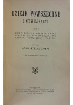 Dzieje Powszechne i cywilizacyi, Tom 1, 1913r.