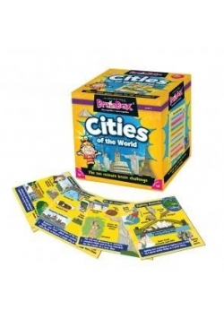 BrainBox Cities of the World wersja angielska ALBI