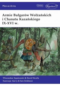 Armie Bułgarów Wołżańskich i Chanatu Kazańskiego..