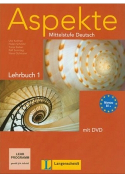 Aspekte. Mittelstufe Deutsch. Lehrbuch 1 mit DVD