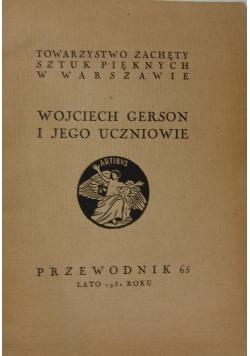 Wojciech Gerson i jego uczniowie, 1931r.