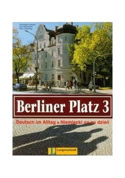 Berliner Platz 3 Podręcznik i ćwiczenia