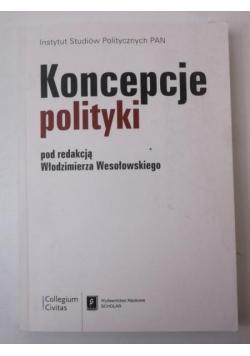Koncepcje polityki